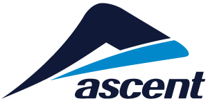 Ascent logo stacked